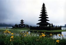 Pura Ulun Danu Bratan Pagodas