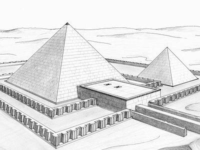 Pyramid Of Khendjer - Saqqara - Egypt