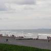 People At Bagasbas Beach