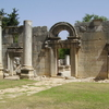 Ancient Synagogue Ruins In Baram National Park