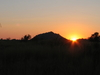Sun Setting Over Pilanesberg