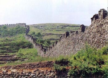 Great Wall Of Qi In Changqing, Jinan