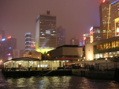 Queens  Pier At Night