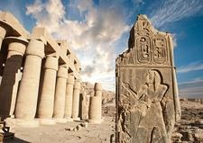 Ramesseum In Luxor