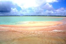 Rangiroa Atoll - Pink Sand's Bank