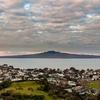 Rangitoto From Mt. Victoria In Devonport NZ