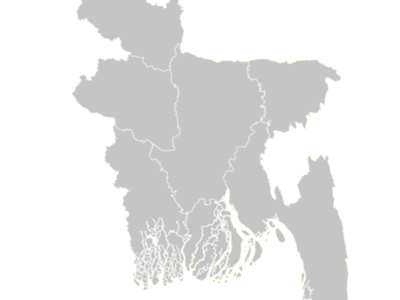 Regional Map Of Bangladesh