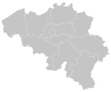 Regional Map Of Belgium