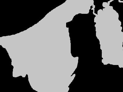 Regional Map Of Brunei