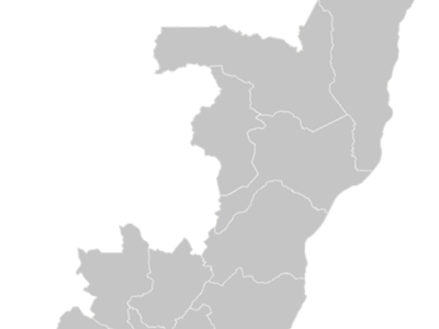 Regional Map Of Congo Brazzaville
