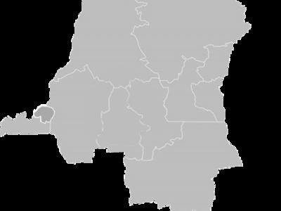 Regional Map Of Congo Kinshasa