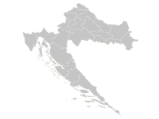 Regional Map Of Croatia