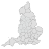 Regional Map Of England