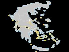 Regional Map Of Greece