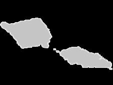 Regional Map Of Samoa Islands