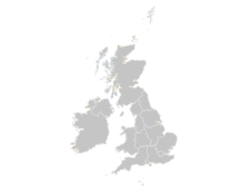 Regional Map Of United Kingdom