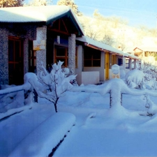 Resort During Snow Time