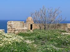 Rethymno Festung Auf Der Bastion