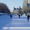 Rideau Canal In Winter
