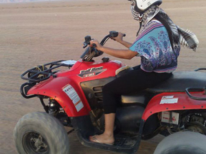 Quad Biking in the Egyptian Desert from Sharm el Sheikh Photos