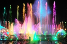 Rizal Park - Colorful Fountains