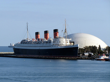 RMS Queen Mary At Long Beach Cruise Terminal