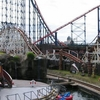 Rollercoasters At Blackpool