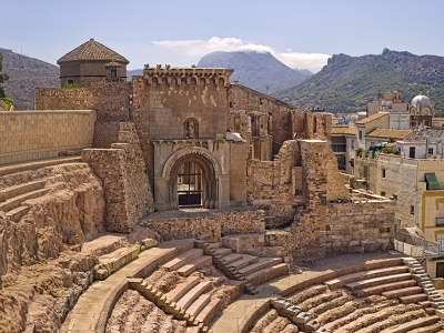 Roman Amphitheater In Cartagena - Spain Murcia