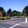 Roundabout At Langshott Housing Estate Horley