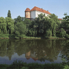 Royal Castle In Sandomierz Seen From Vistula