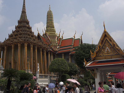 Royal Palace Complex In Bangkok