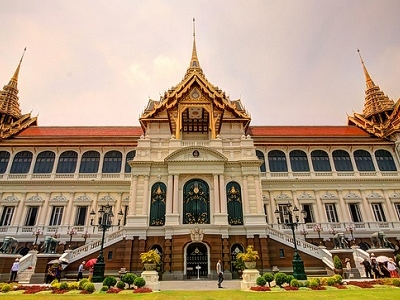Royal Palace Front View - Thailand Bangkok
