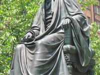 Roger B. Taney Sculpture