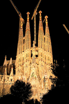 Sagrada Familia By Night