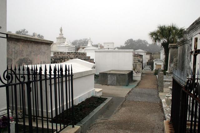 St. Louis Cemetery No. 1 Walking Tour Photos
