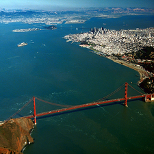 San Francisco Bay And The Golden Gate Bridge