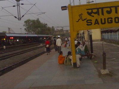 Saugor Railway Station