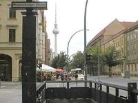 Berlin Oranienburger Straße Station