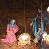Scene Depicting Birth Of Jesus