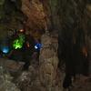 Scene Inside Phong Nha Cave