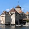 Schweiz Schloss Chillon Gesamtansicht
