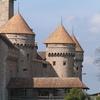 Schweiz Schloss Chillon Teilansicht