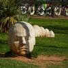 Sculpture In Cartagena - Murcia Spain