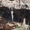 Seahorse Stalactite In A Cave On One Of The Canyon Walls
