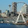 Seattle From Ferry To Bainbridge Island WA