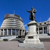 Seddon Statue In Parlimanent Grounds @ Wellington NZ