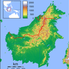 Semporna Is Located In Borneo Topography