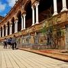 Seville Plaza De Espana Details - Andalusia