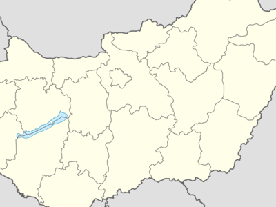 Location Of Sagvar On Hungary Map