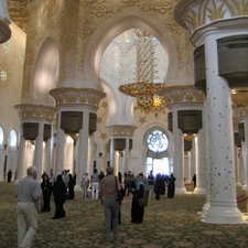 Sheikh Zayed Mosque Inside